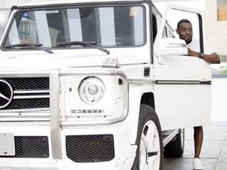 Comedian AY shows off brand new Benz G-Wagon