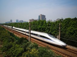 See the Chinese HSR train that travels at 287 km/h