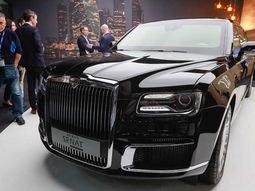 Senat L700, Vladimir Putin's 7-Ton Limo Makes Debut At Geneva Motor Show