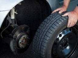 What's the basic rule in rotating your car tyres?