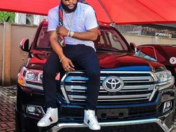 Kcee ups his game with purchase of a Toyota Prado SUV