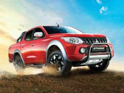 Meet the special edition Strada (Triton) truck - the 'beyond tough' Mitsubishi