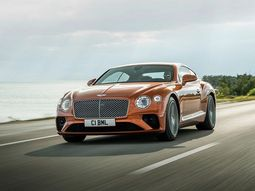 The new 2019 Bentley Continental GT V8 is now more agile than ever