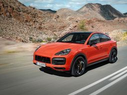 Highlight features of the sporty looking 2020 Porsche Cayenne Coupe