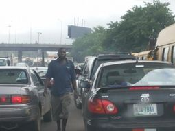 Lagosians lament over gridlocks at Toyota and Charity bus stops in Lagos
