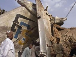 What is the first plane crash in Nigeria?