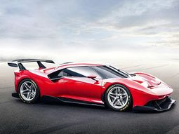 Ferrari P80/C has been finally revealed as a one-off track car