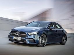 This is the latest revealed Mercedes-AMG A35 with 302bhp!