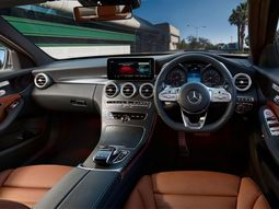 [Photos] Mercedes Benz C-Class interior - the flagship executive car by Daimler AG