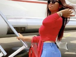 Flying high and rich! Regina Daniels gets aboard private jet club!