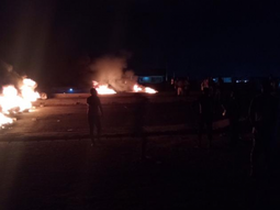 Furious mob redefines road rage, sets Lagos-Abeokuta road on fire
