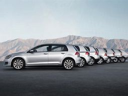 The best-selling Volkswagen car in history – Golf, turns 45