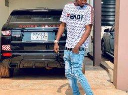 Ghanaian rapper Mawuli Younggod flees after car smash up