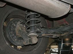 Signs of bad coil spring suspension in cars