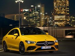 Mercedes AMG CLA 35, the perfect car for city like New York