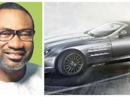 Femi Otedola with the Money's $1 billion dollars car garage (Part 1)