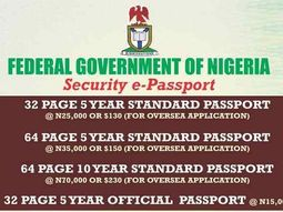 How to apply for new Nigerian International passport? - Categories, Prices & Step-by-step Guide