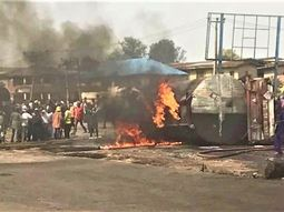 Many feared dead as petrol tanker catches fire in Ibadan