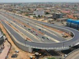 The new Murtala Muhammed International Airport road. Ambode's final legacy!
