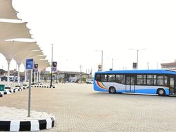Lagos transportation levels up with smart buses commissioning
