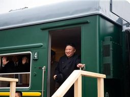 Peaceful armour! Supreme leader of North Korea, Kim Jong Un travels to Russia in an armoured train