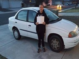 13-year-old boy goes viral for buying his mum a car