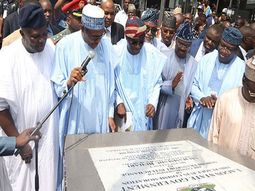 The reconstructed Murtala Mohammed International Airport Road launched by President Buhari