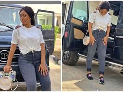 Collection of Mercedes Benz cars acquired by Regina Daniels in 2019