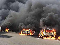 Step-by-step guide to deal with car fire