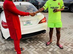 Zlatan Ibile buys another Mercedes Benz after acquiring new house and two cars