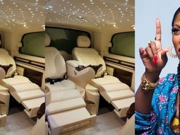 Trending! Tiwa Savage gets her customized Mercedes delivered to her house for ₦15m