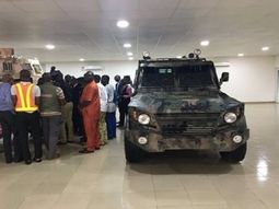 See these Nigerian-made Armored Vehicles that were manufactured locally in Ijebu-Ode, Ogun State!