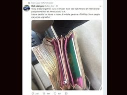 The Uber guy returned passenger's purse containing ₦25,000 to get back ₦500 tip. Here's how people reacted!