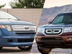 [Expert comparison review] 2010 Honda Pilot vs 2010 Ford Edge
