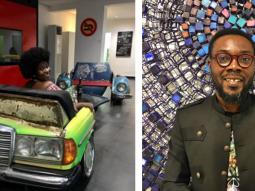 Nigerian artist Diseye Tantua creates amazing art pieces from salvaged vintage car parts