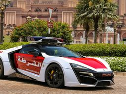 Exotic police! ₦1.2b Lykan Hypersport officially joins police cars in Abu Dhabi after 4 years of testing