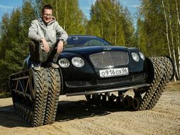 Russians turned ₦81m Bentley Continental GT into world most luxurious tank