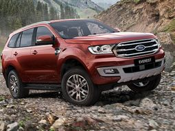 Lagos International Motor Show: 2019 Ford Everest revealed by Coscharis Motors
