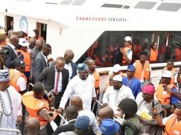 Ambode opens Bariga Waterfront Jetty before leaving the office
