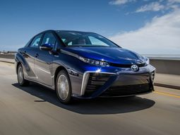 Brand new hydrogen-powered Toyota Mirai 2019 released: the car of Future!
