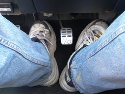 Car brakes lock up while driving: what to do immediately?