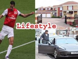 Car collection of retiring footballer Robin Van Persie: the ex-striker of Man U