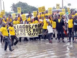 Updates on residents' protest over Lagos-Badagry expressway