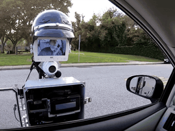 Watch this police robot pull a car over just like a real police officer!