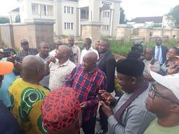 Rochas Okorocha destroys low class properties then honors past governors with luxury cars & house?