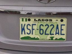 11 types of number plates in Nigeria & what they signify