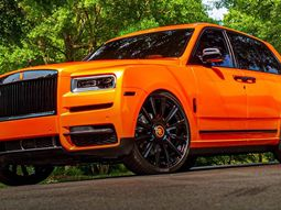 "Odell Beckham Jr. is now the proud owner of orange Rolls-Royce Cullinan with ""Spirit of Odell"" badge"