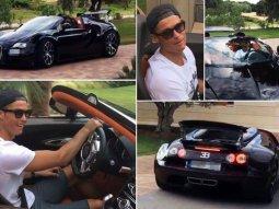 Cristiano Ronaldo bought the most expensive car in the world - Bugatti La voiture Noire