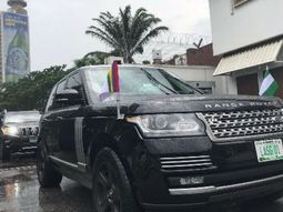 New Lagos State governor takes armoured Range Rover Sentinel SUV as official vehicle