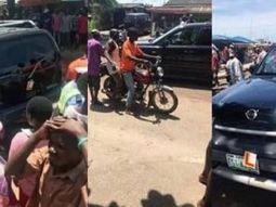 Learner driver flees accident scene after knocking down motorcyclist in Lagos